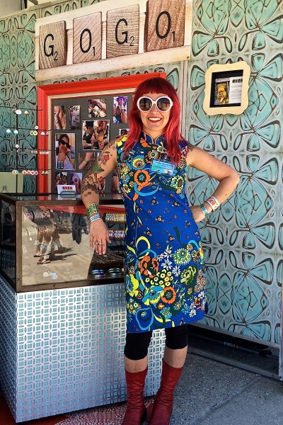 17636710d7d Gogo Borgerding Hometown  New Orleans Known for her iconic aluminum cuffs