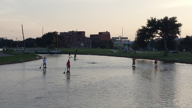 In pictures: Bayou St John at sunset