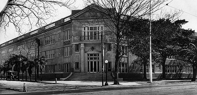 City Park Academy in the 1930s