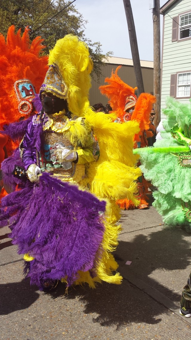 Mardi Gras Indians Celebrate Hall of Fame Week