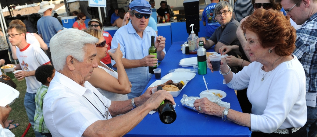 Yamas! (Cheers) at Greek Fest