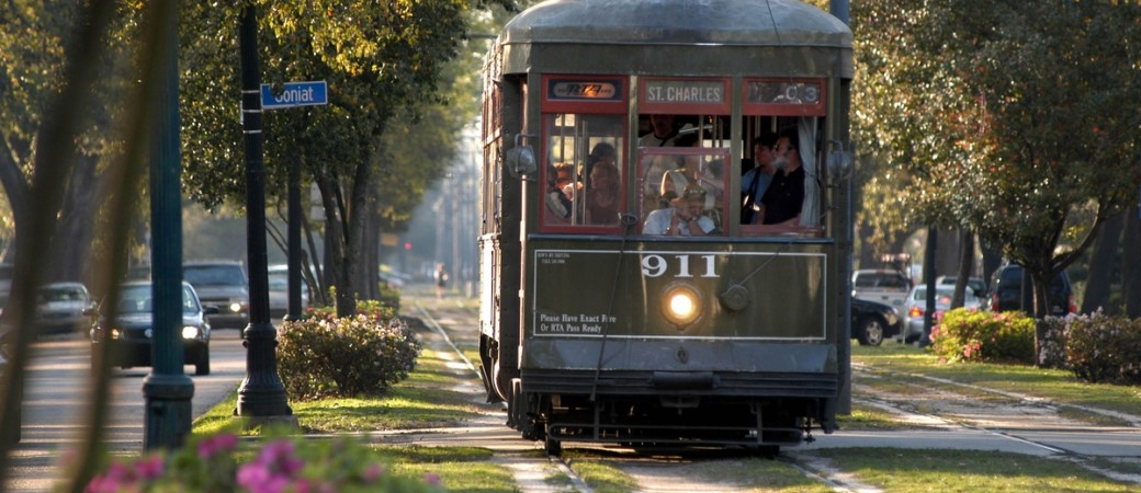 St Charles Avenue Streetcar