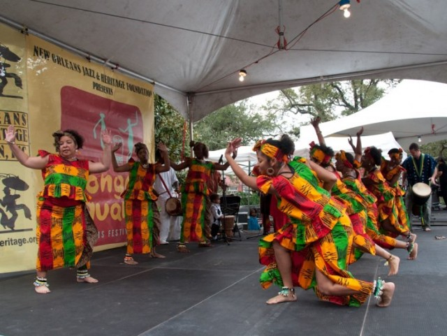 Get some old world beats at the Congo Square New World Rhythms Festival.