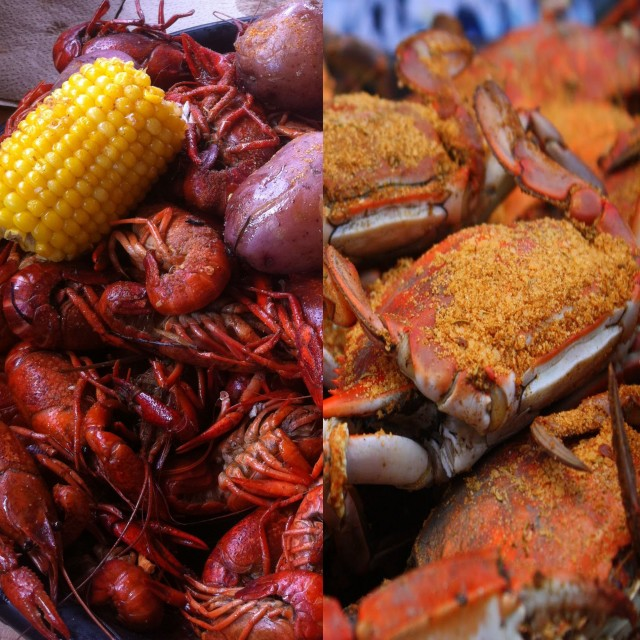 Crabs versus Crawfish
