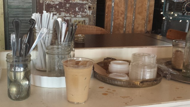 Try this, New Orleans: Horchata latte