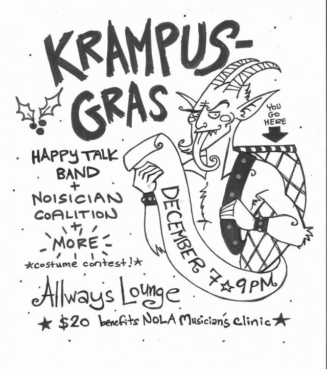 Krampus Gras is coming to town