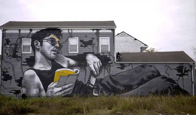 New house-sized mural in 7th Ward