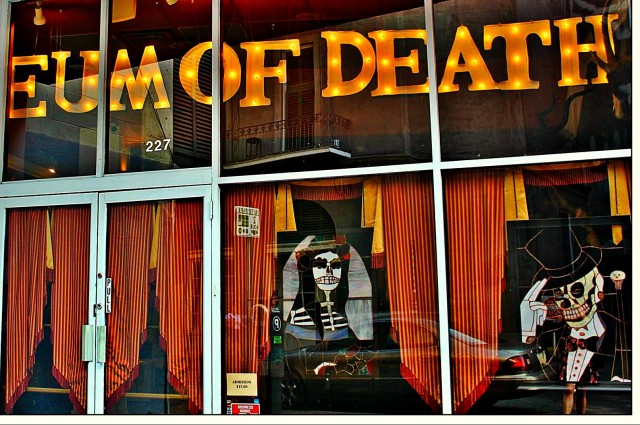 Bringing the Museum of Death to Life