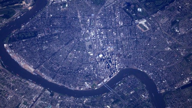 New Orleans...from SPACE!