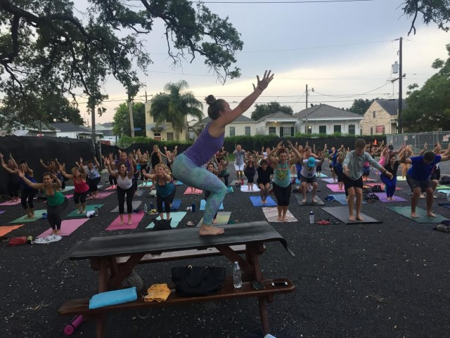Find Your Flow With NOLA Tribe Yoga