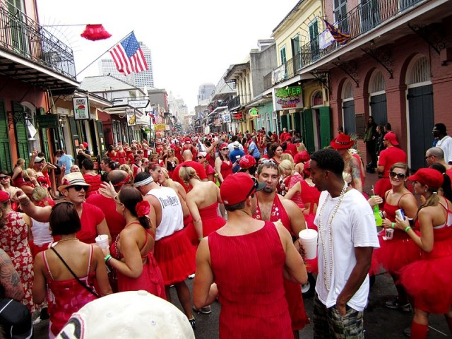 The New Orleans Red Dress Run Turns 21