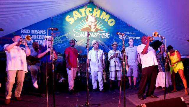 Celebrating 'Pops' at Satchmo Summerfest