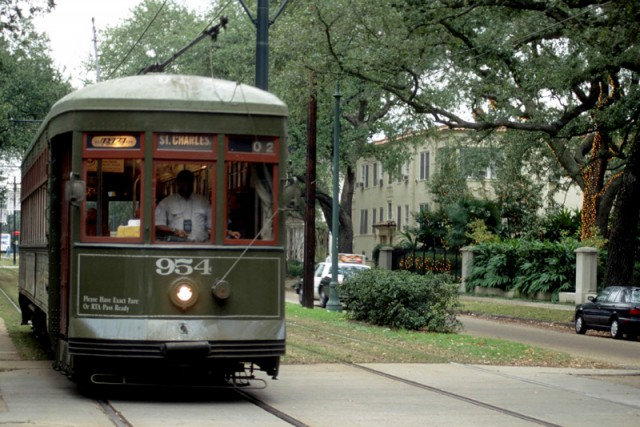 St Charles Streetcar Line named National Historic Landmark
