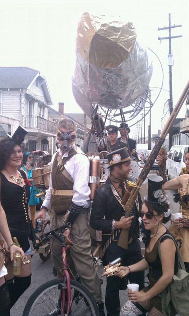 NOLA Steampunkers release anthology, invade Metairie