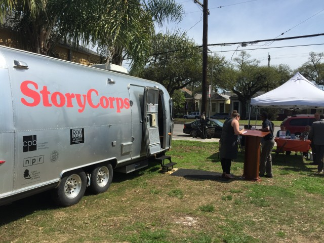 StoryCorps Comes to New Orleans