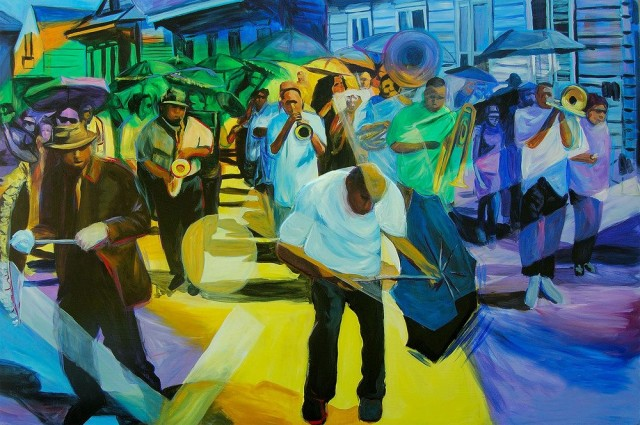 Treme Art Exhibit Opens with Jazz in the Park