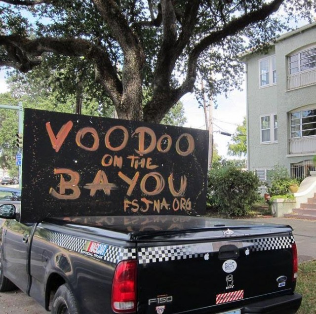 Voodoo on the Bayou and you