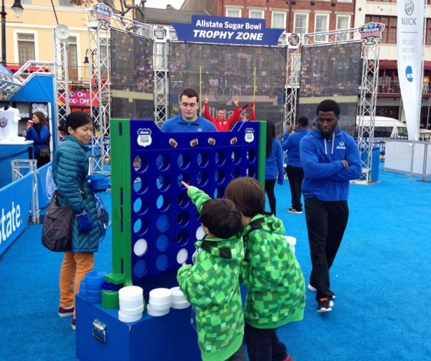 Allstate's Sugar Bowl Fan Fest Celebrates School Spirit