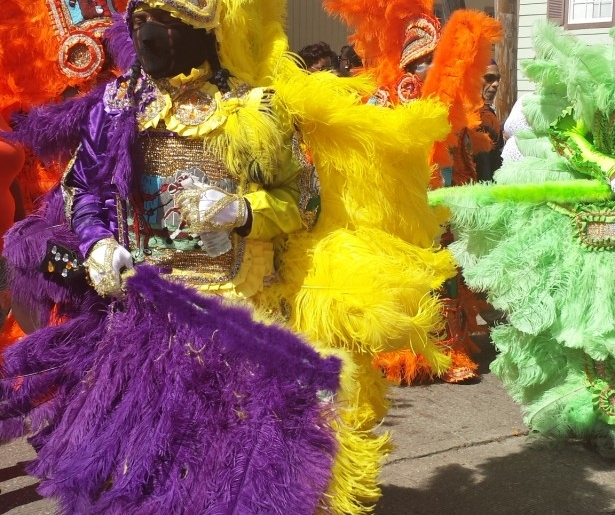 mardi gras indians celebrate hall of fame week neworleans me. Black Bedroom Furniture Sets. Home Design Ideas