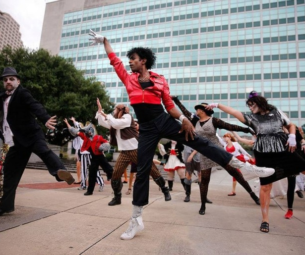 Flashmob New Orleans: It's a Thrill(er)