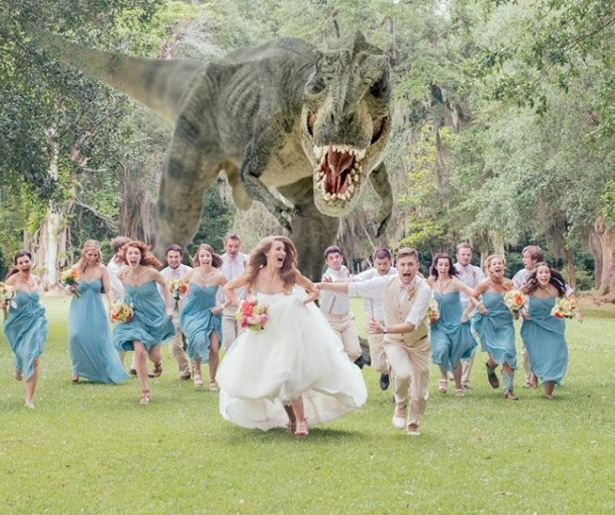 T-Rex invades the Myrtles
