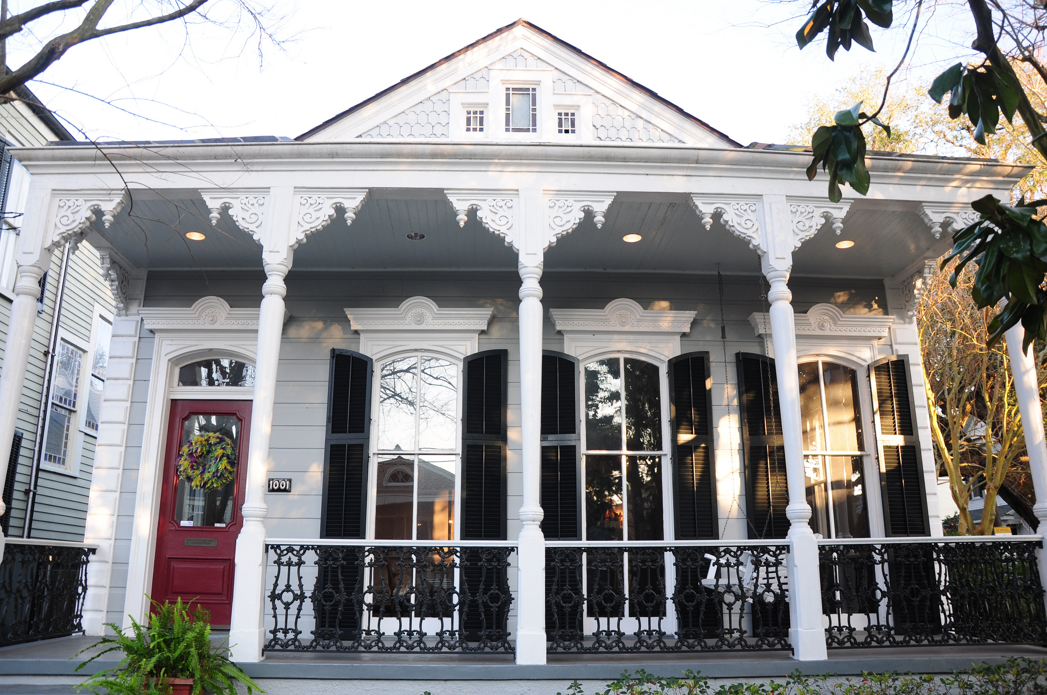 The history of a home the shotgun neworleans me for New orleans shotgun house plans